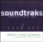 Mercy Came Running, Accompaniment CD