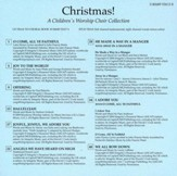 Christmas! A Children's Worship Choir Collection, Accompaniment CD