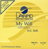 My Will, Accompaniment CD