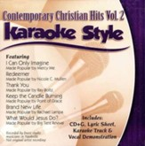 Contemporary Christian Hits, Volume 2 Karaoke CD