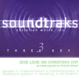 Give Love On Christmas Day, Accompaniment CD  - Slightly Imperfect