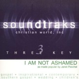 I Am Not Ashamed [Music Download]