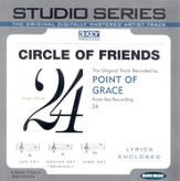 Circle Of Friends - Medium key performance track w/o background vocals [original key] [Music Download]