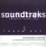 Whispered Prayer, Accompaniment CD