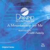 A Mountaintop For Me, Accompaniment CD