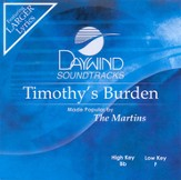 Timothy's Burden, Accompaniment CD