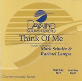 Think Of Me, Accompaniment CD