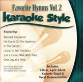 Favorite Hymns, Volume 2, Karaoke Style CD