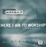 Here I Am To Worship, Acc CD