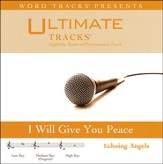 I Will Give You Peace, Acc CD
