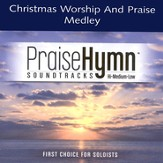 Christmas Worship and Praise Medley, Accompaniment CD
