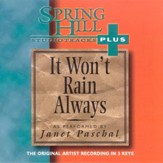 It Won't Rain Always, Accompaniment CD