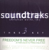 Freedom's Never Free, Accompaniment CD