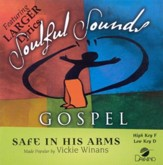 Safe In His Arms, Accompaniment CD