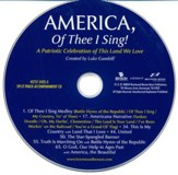 America, of Thee I Sing - Split Track CD