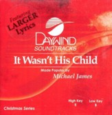 It Wasn't His Child, Accompaniment CD