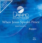 When Jesus Speaks Peace, Acc CD