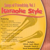 Songs of Friendship, Volume 1, Karaoke Style CD