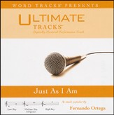 Just As I Am (As Made Popular By Fernando Ortega) [Performance Track] [Music Download]