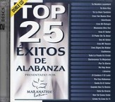 Top 25 Éxitos de Alabanza, CD