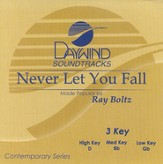 Never Let You Fall, Accompaniment CD