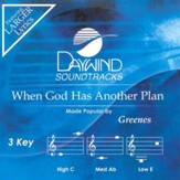 When God Has Another Plan, Accompaniment CD