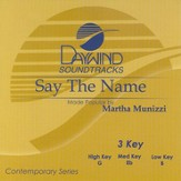 Say The Name, Accompaniment CD