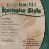 Favorite Hymns, Volume 3, Karaoke Style CD