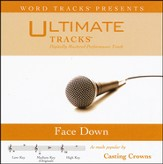 Face Down (Medium Key Performance Track With Background Vocal) [Music Download]