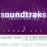 Higher Than I've Ever Been, Accompaniment CD