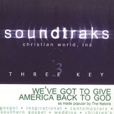 We've Got To Get America Back To God, Accompaniment CD