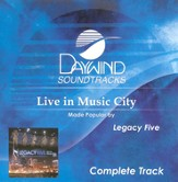 Live In Music City, Complete CD Tracks