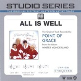All Is Well - Low key performance track w/o background vocals [Music Download]