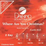 Where Are You Christmas? Accompaniment CD