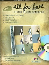 All for Love (CD-ROM Songbook)