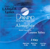 Almighty, Accompaniment CD