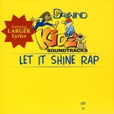 Let It Shine Rap, Accompaniment CD