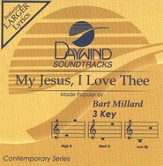 My Jesus, I Love Thee, Accompaniment CD