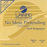 No More Pretending, Accompaniment CD