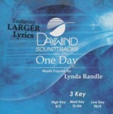 One Day, Accompaniment CD