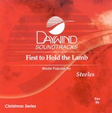 First To Hold The Lamb, Accompaniment CD