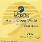 Arms Open Wide, Accompaniment CD