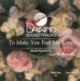 To Make You Feel My Love, Accompaniment CD