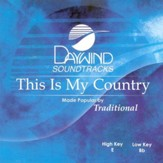 This Is My Country, Accompaniment CD