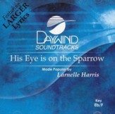 His Eye Is On the Sparrow, Accompaniment CD