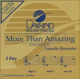 More Than Amazing [Music Download]