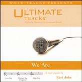 We Are (High Key Performance Track With Background Vocals) [Music Download]