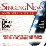 Medley: Winter Wonderland/Sleigh Ride/White Christmas,  Accompaniment CD
