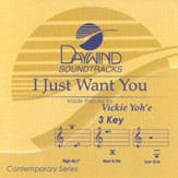 I Just Want You, Accompaniment CD