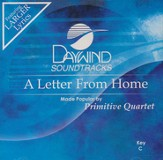 Letter From Home, Acc CD